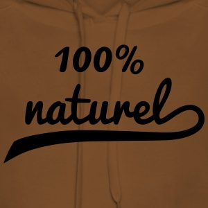 100 % Naturel 2014 Tee shirts - Sweat-shirt à capuche Premium pour femmes