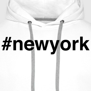 NYC - New York - Big Apple Langarmshirts - Männer Premium Hoodie