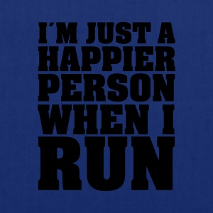 I´m Just A Happier Person When I Run T-Shirts - Tote Bag