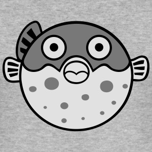 Fugu blowfish Sweat-shirts - Tee shirt près du corps Homme