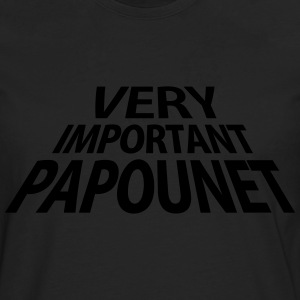 Very Important Papounet Papa (1c) Tee shirts - T-shirt manches longues Premium Homme