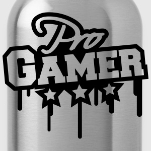 Pro Gamer Graffiti Magliette - Borraccia
