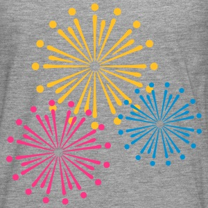 Firework Design Tee shirts - T-shirt manches longues Premium Homme