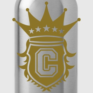 C Crest T-Shirts - Water Bottle