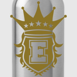 E Crest T-Shirts - Water Bottle