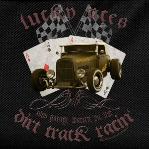 lucky aces dirt track racing hot rod retro Pullover & Hoodies - Kinder Rucksack