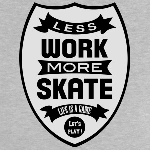 Less work more Skate Tee shirts - T-shirt Bébé