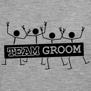 Team Groom Party Crew T-shirts - Mannen Premium shirt met lange mouwen