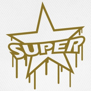 Super Star Graffiti Camisetas - Gorra béisbol