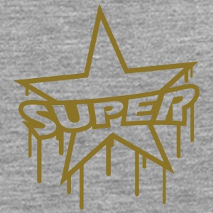 Super Star Graffiti T-shirts - Långärmad premium-T-shirt herr