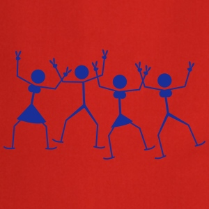 Cool Dancing Party Couples T-shirts - Forklæde
