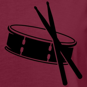 A drum and sticks Polo Shirts - Women's Oversize T-Shirt