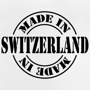 made_in_switzerland_m1 Camisetas - Camiseta bebé