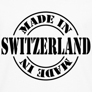 made_in_switzerland_m1 Skjorter - Premium langermet T-skjorte for menn
