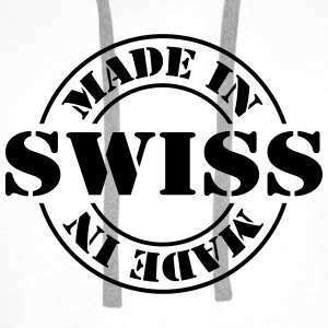 made_in_swiss_m1 Shirts - Men's Premium Hoodie