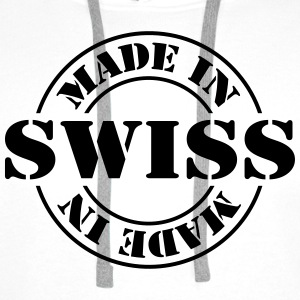 made_in_swiss_m1 Skjorter - Premium hettegenser for menn