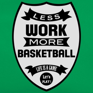 Less work more Basketball Shirts - Retro-tas