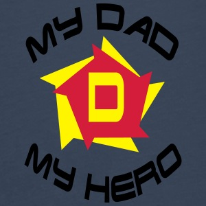 My dad my hero Accessoires - T-shirt manches longues Premium Homme