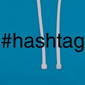 #hashtag Accessories - Contrast Colour Hoodie