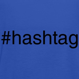 #hashtag Accessories - Women's Tank Top by Bella