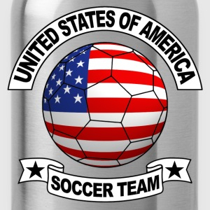 us soccer team Tee shirts - Gourde