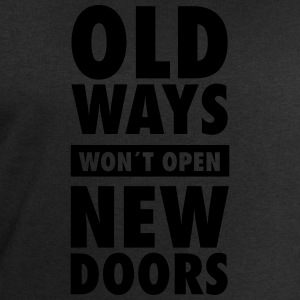 Old Ways Won´t Open New Doors T-skjorter - Sweatshirts for menn fra Stanley & Stella