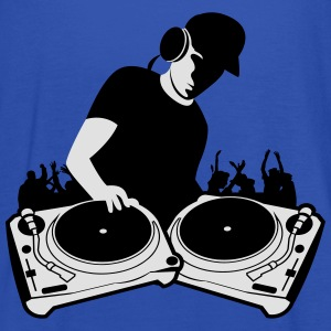 DJ with Turntables,DJ, concert, Mix, Record, Turnt Hoodies & Sweatshirts - Women's Tank Top by Bella