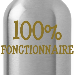 100% fonctionnaire Tee shirts - Gourde