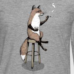 The Fox at the Bar Tee shirts - T-shirt manches longues Premium Homme
