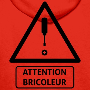 attention_bricoleur Tee shirts - Sweat-shirt à capuche Premium pour hommes