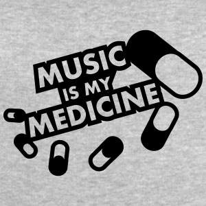 Music Is My Medicine Design T-Shirts - Men's Sweatshirt by Stanley & Stella