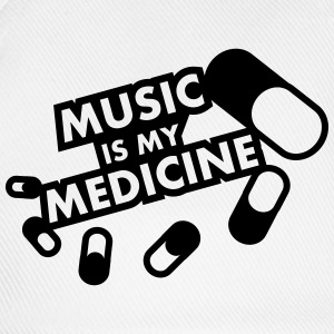 Music Is My Medicine Design Tee shirts - Casquette classique