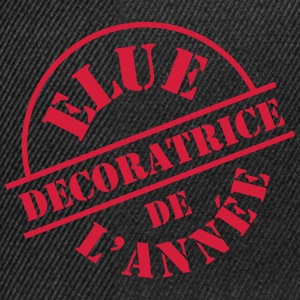 Décoratrice Tee shirts - Casquette snapback