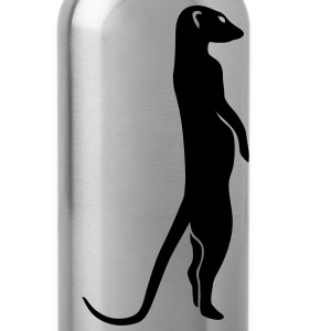 meerkat surikat moon Shirts - Water Bottle
