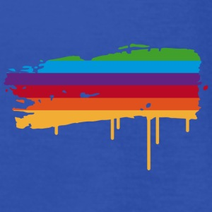 A rainbow flag as a graffiti Hoodies & Sweatshirts - Women's Tank Top by Bella
