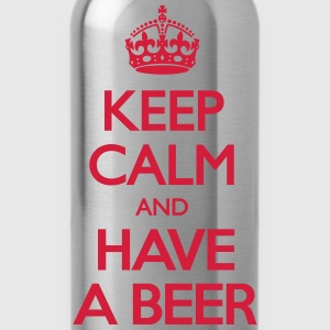 Keep Calm and Have Beer T-Shirts - Trinkflasche