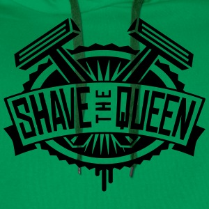Shave the Queen Shirt England London T-Shirts - Männer Premium Hoodie