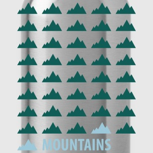 Mountains Tee shirts - Gourde