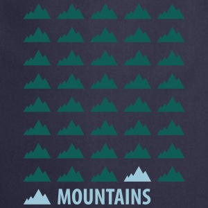Mountains Sweat-shirts - Tablier de cuisine