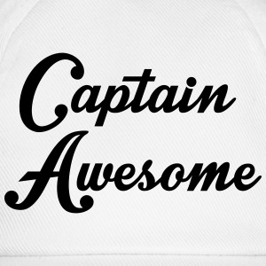 Captain Awesome Sweatshirts - Baseballkasket