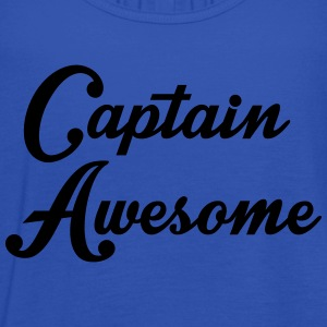 Captain Awesome T-Shirts - Women's Tank Top by Bella