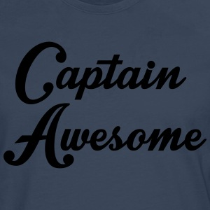 Captain Awesome T-shirts - Långärmad premium-T-shirt herr
