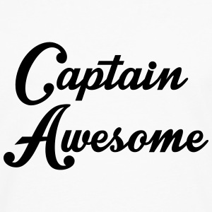 Captain Awesome Sweat-shirts - T-shirt manches longues Premium Homme