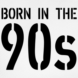 Born In The 90s T-Shirts - Baseball Cap