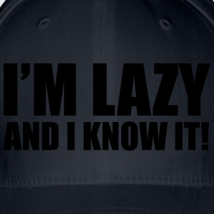 Lazy T-Shirts - Flexfit Baseball Cap