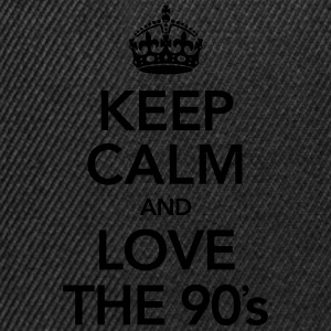 Keep Calm And Love The 90´s Magliette - Snapback Cap
