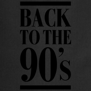 Back To The 90´s T-shirts - Keukenschort