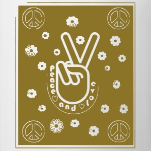 PEACE AND LOVE Tee shirts - Tasse