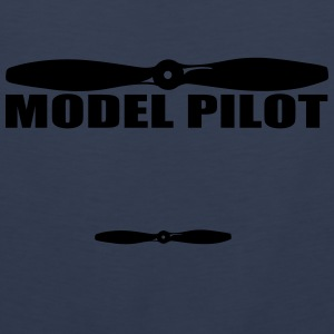 model_pilot Caps & luer - Premium singlet for menn