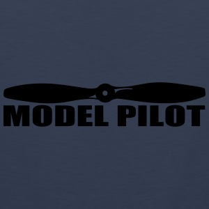 model_pilot Caps & Hats - Men's Premium Tank Top